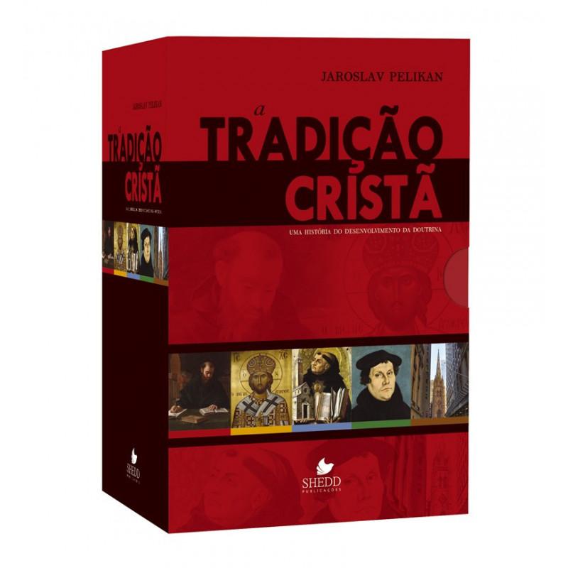 BOX 5 VOLUMES TRADIÇÃO CRISTÃ