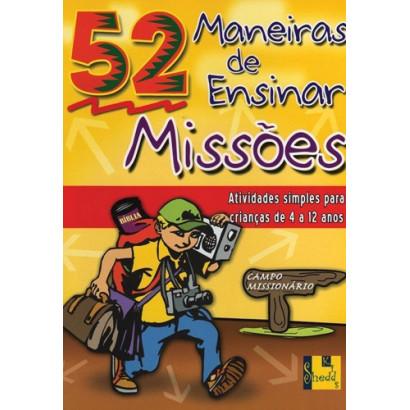 MANEIRAS DE ENSINAR MISSOES