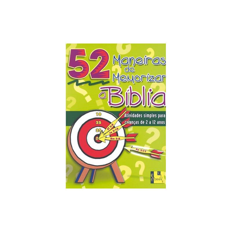 MANEIRAS DE MEMORIZAR A BIBLIA