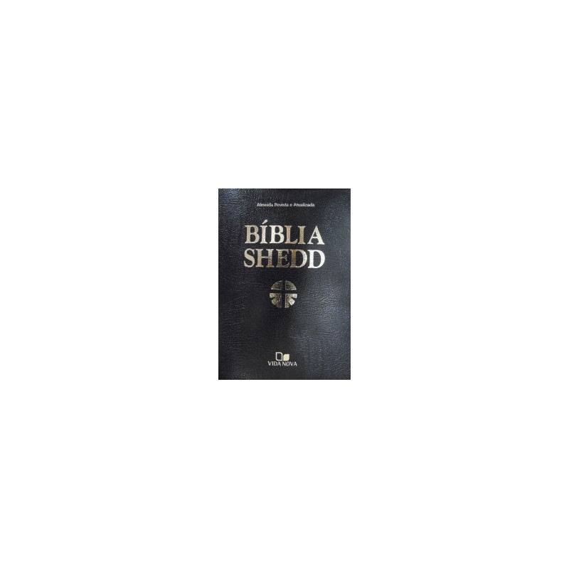 Biblia Shedd - covertex preto - - VIDA NOVA